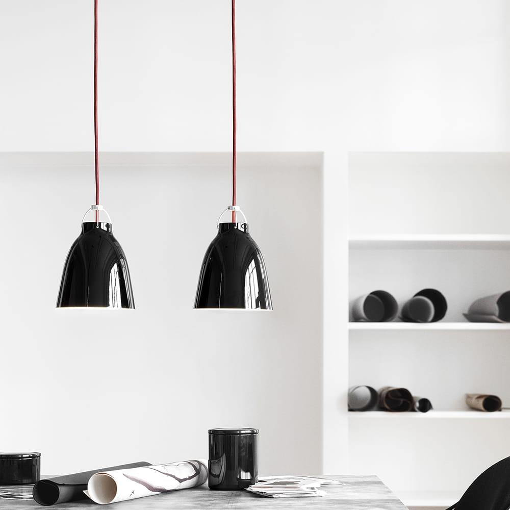 Lightyears,Lampa wisząca Caravaggio P3 POŁYSK  różne kolory  SKANDYNAWSKIE PL -> Kuchnia Orzech Caravaggio