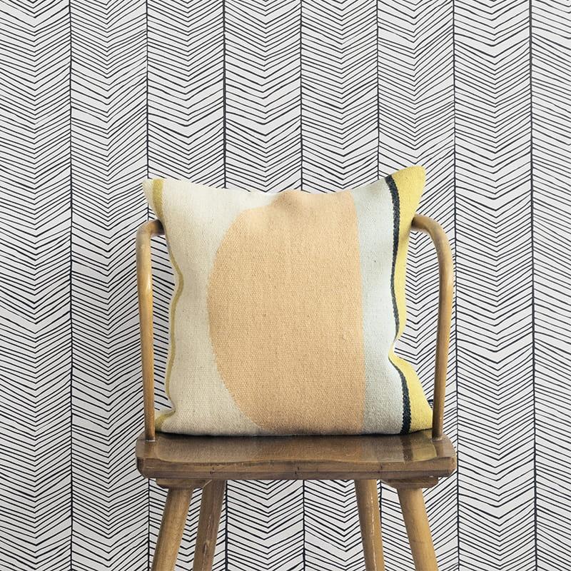 ferm living tapeta ferm living herringbone 167 klej. Black Bedroom Furniture Sets. Home Design Ideas