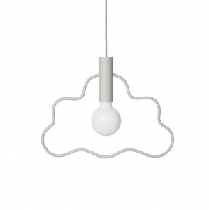 Lampa Ferm Living Cloud - szara