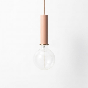 Lampa Ferm Living COLLECT oprawka długa - rose