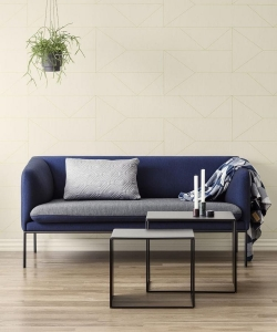 Tapeta Ferm LIVING Lines off white 168 + klej gratis