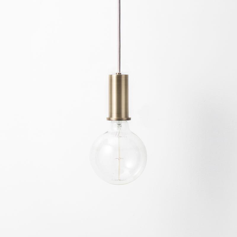 Lampa Ferm Living COLLECT oprawka krótka mosiądz